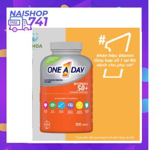 Vitamin Tổng Hợp One A Day For Women 50+ dành cho phụ nữ trên 50 tuổi 300 viên, giúp bồi bổ cơ thể tăng sức đề kháng thumbnail