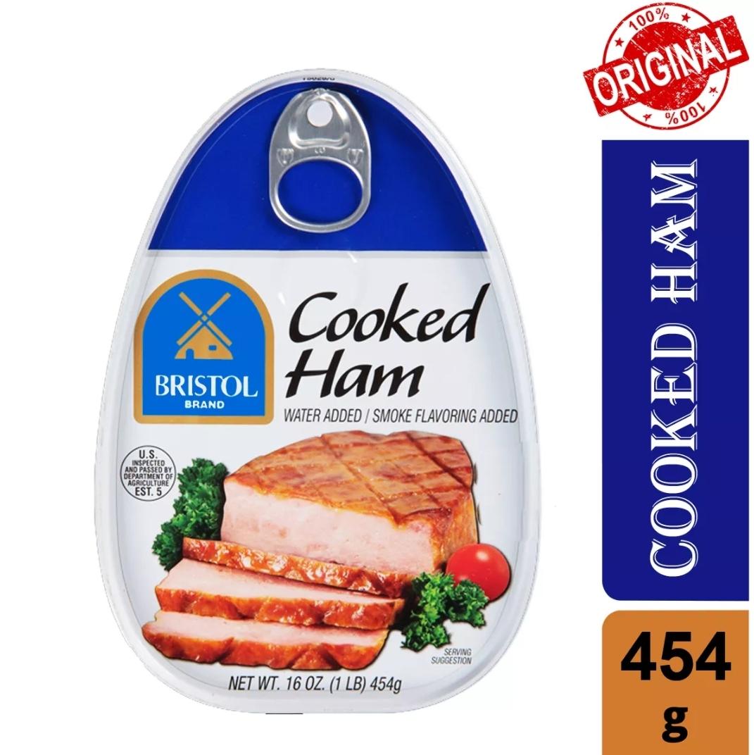 Ưu Đãi Khuyến Mại Khi Mua [Date: 02/05/2025] Thịt Hộp Bristol Cooked Ham Water Added 454g (Hộp Lớn), Thịt Heo Hộp Hầm Vị Xông Khói Bristol, Thịt Hộp Mỹ (USA), Thịt Heo Hộp, Thịt Heo đóng Hộp, Thịt Heo Hộp Nấu Chín Xông Khói - Bách Hóa Takamart