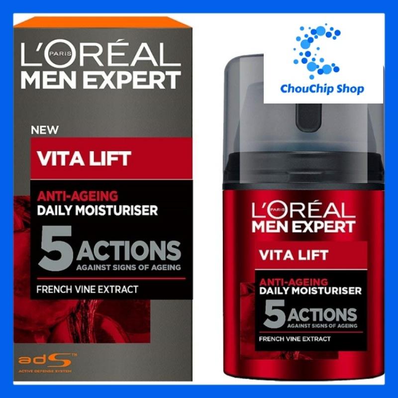 [HCM]Kem chống lão hóa 5 tác động LOréal Men Expert Vita Lift 5 Anti Ageing Moisturiser 50 ml