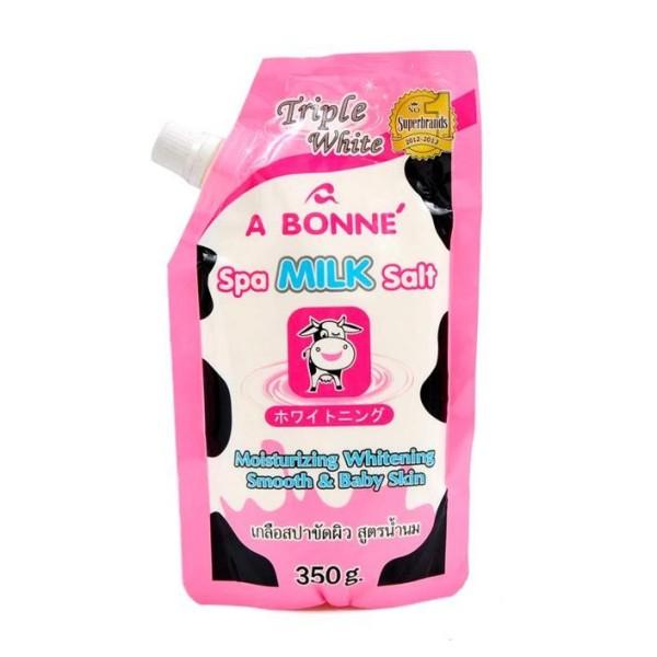 Muối tắm Thái Lan A Bonne Spa Milk Salt 350g giá rẻ