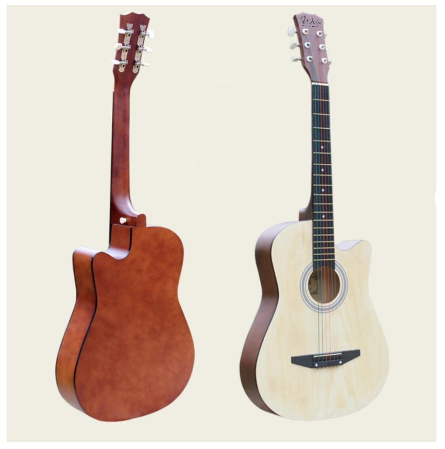 Đàn Guitar Acoustic Gỗ Hồng Đào Dáng Khuyết Siêu Rẻ