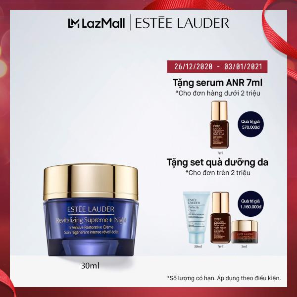 Kem dưỡng ban đêm chống lão hóa và tái tạo chuyên sâu Estee Lauder Revitalizing Supreme+ Night Intensive Restorative Crème