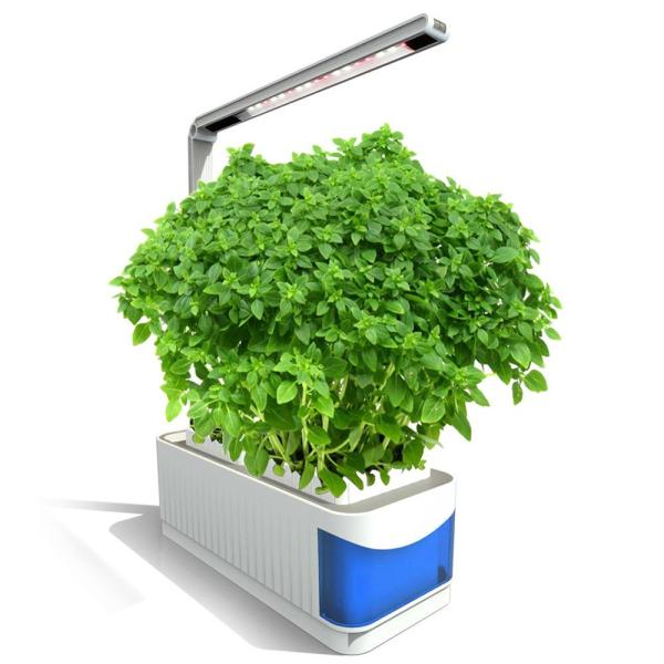 Multifunctional Smart Indoor Herb Gardening Planter Kit Hydroponic Growing System with LED Plant Grow Light AC100-240V