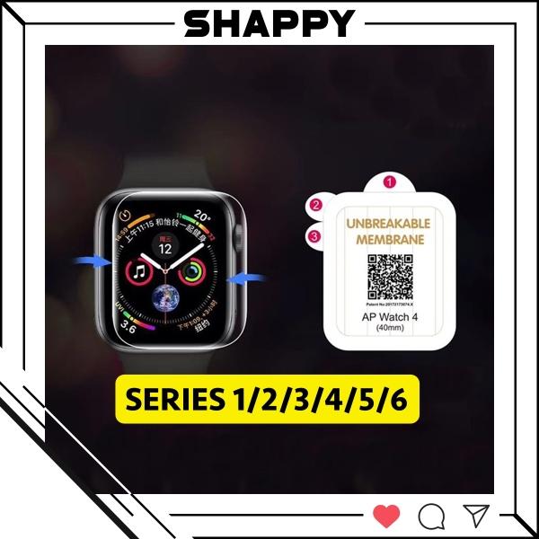 Skin Dán PPF Apple Watch Series 1/2/3/4/5/6 Chống Trầy Xước Màn Hình [Shappy Shop]