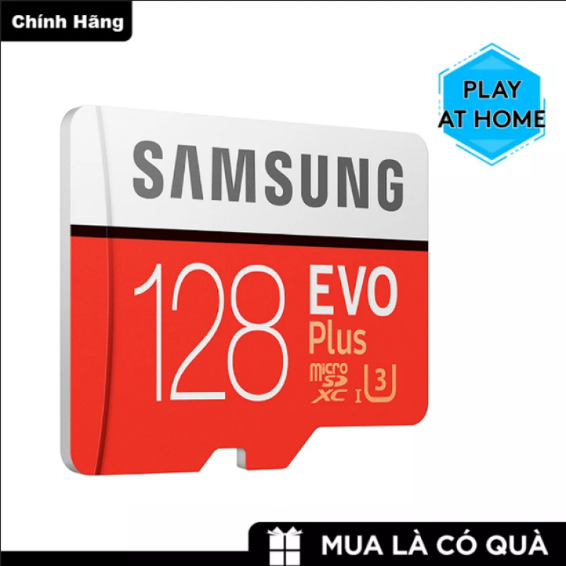 Thẻ nhớ MicroSDXC Samsung Evo Plus 128GB U3 4K R100 MB/s W90 MB/s - Box Anh