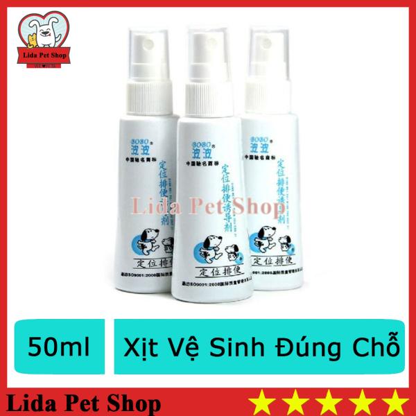HN- (2 loại)- Xịt hướng dẫn đi vệ sinh BoBo thế hệ mới (120ml và 50ml) hướng dẫn chó mèo vệ sinh đúng chỗ