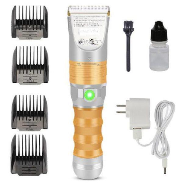 Tông đơ cắt tóc pin sử dụng 5 tiếng Huaerbo B60,lưỡi sứ ceramic chống nóng giá rẻ