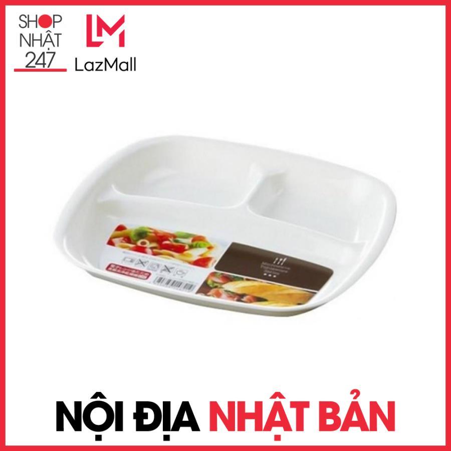 Offer Khuyến Mại Khay ăn Chia 3 Ngăn Cho Bé Sanada - Nội địa Nhật Bản