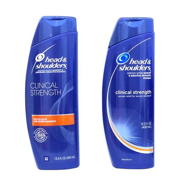 Dầu Gội Trị Gàu Dành Cho Mọi Loại Tóc Head & Shoulders Clinical Strength Shampoo - 400Ml nhập khẩu