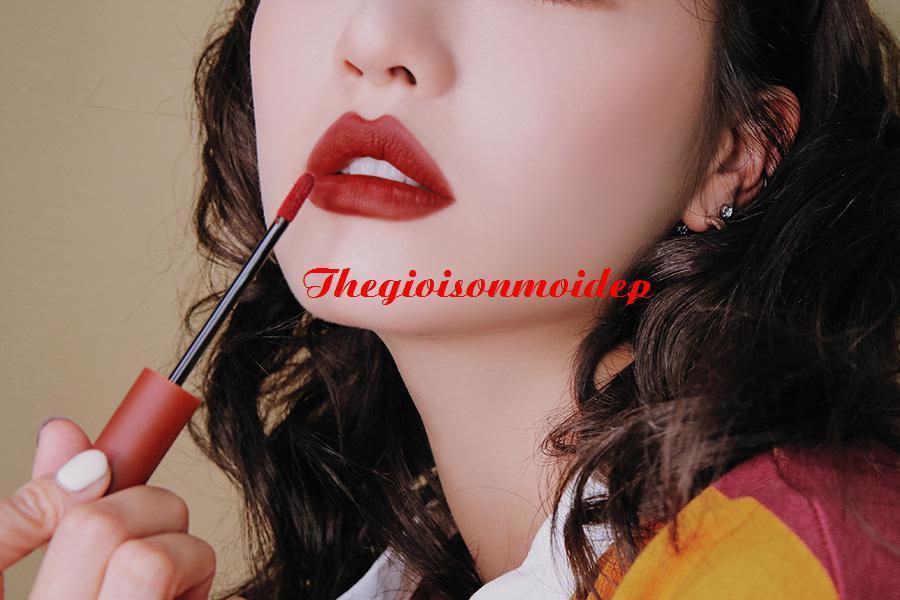 Son 3CE Velvet Lip Tint: Daffodil Đỏ Đất tốt nhất