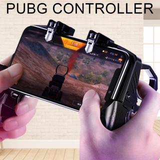 Tay cầm chơi game 4 ngón thiết bị kết nối hỗ trợ PUBG K21 Tay cầm không ồn nút bắn nhanh thượng hạng cho trò chơi PUBG Rules of Survival Tay cầm chơi game Tay cầm nút bấm cho điện thoại iOS & Android 4-6,5 [Phạm Thảo 2] Dũng YenLuong thumbnail