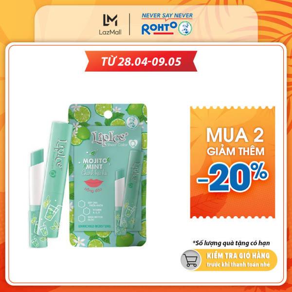 Son dưỡng Lipice Sheer Color Q Mojito Mint 2.4g (Hồng tự nhiên)