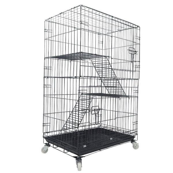 Lồng mèo 3 tầng 80x55x105cm dành cho mèo