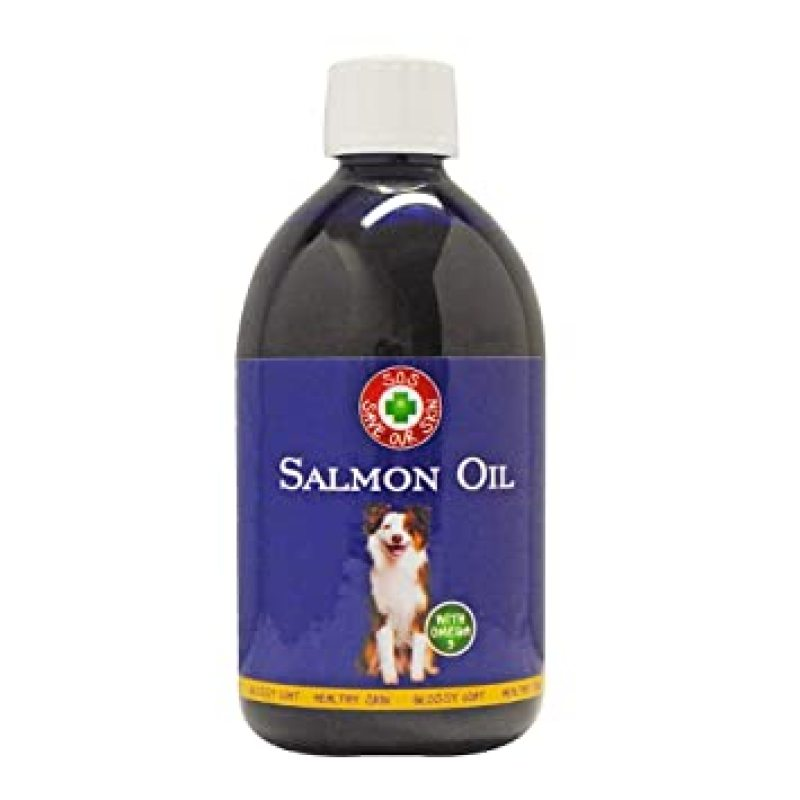 DẦU CÁ FISH 4 DOGS  SALMON OIL FOR DOGS & CATS 500ml