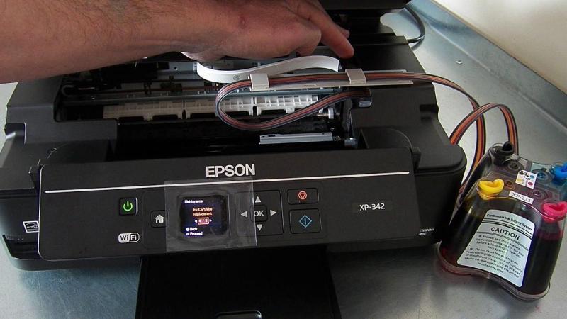 Epson XP342 thay L385/L365 máy in phun đi kèm mực zin theo máy