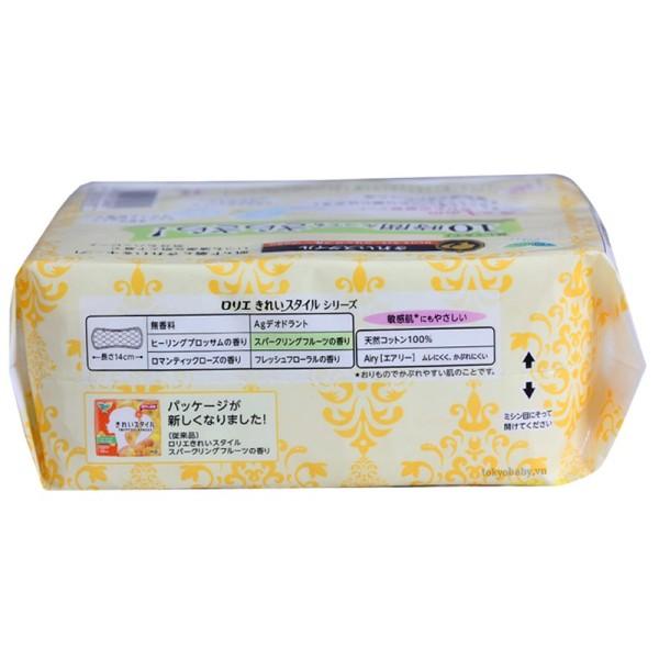 Băng vệ sinh Laurier nội địa Nhật Bản hàng ngày - Hương thảo mộc, trái cây, hoa hồng