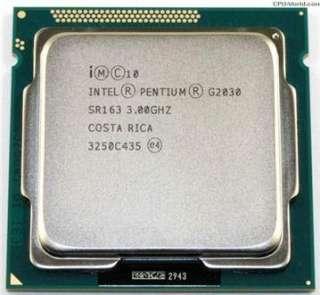 CPU G2030 socket 1155 sử dụng cho các main H61 hoặc B75 bảo hành 3 tháng lỗi 1 đổi 1 Kèm Fan