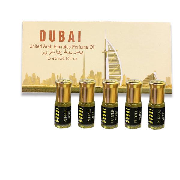 GIÁ DÙNG THỬ SIÊU RẺ - Set 5 chai tinh dầu nước hoa DUBAI - Giao hộp mùi ngẫu nhiên. nhập khẩu