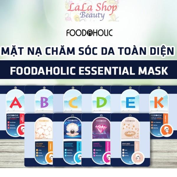Mặt nạ Foodaholic Essential Mask chăm sóc da toàn diện cao cấp
