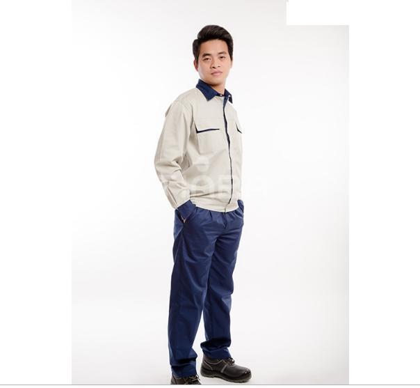 Bộ quần áo bảo hộ lao động Kaki Pangrim Hàn Quốc size M