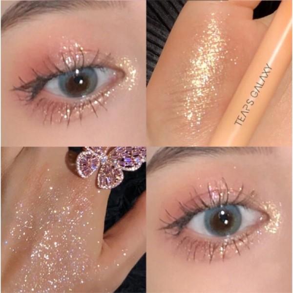 Bút nhũ mắt highlight bling dạng sáp Waterproof Tears Galaxy - Mới 2021 giá rẻ