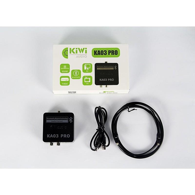Bảng giá Bộ chuyển đổi âm thanh từ Optical sang Analog KIWI KA03 Pro hỗ trợ Bluetooth - Hàng chính Hãng Phong Vũ