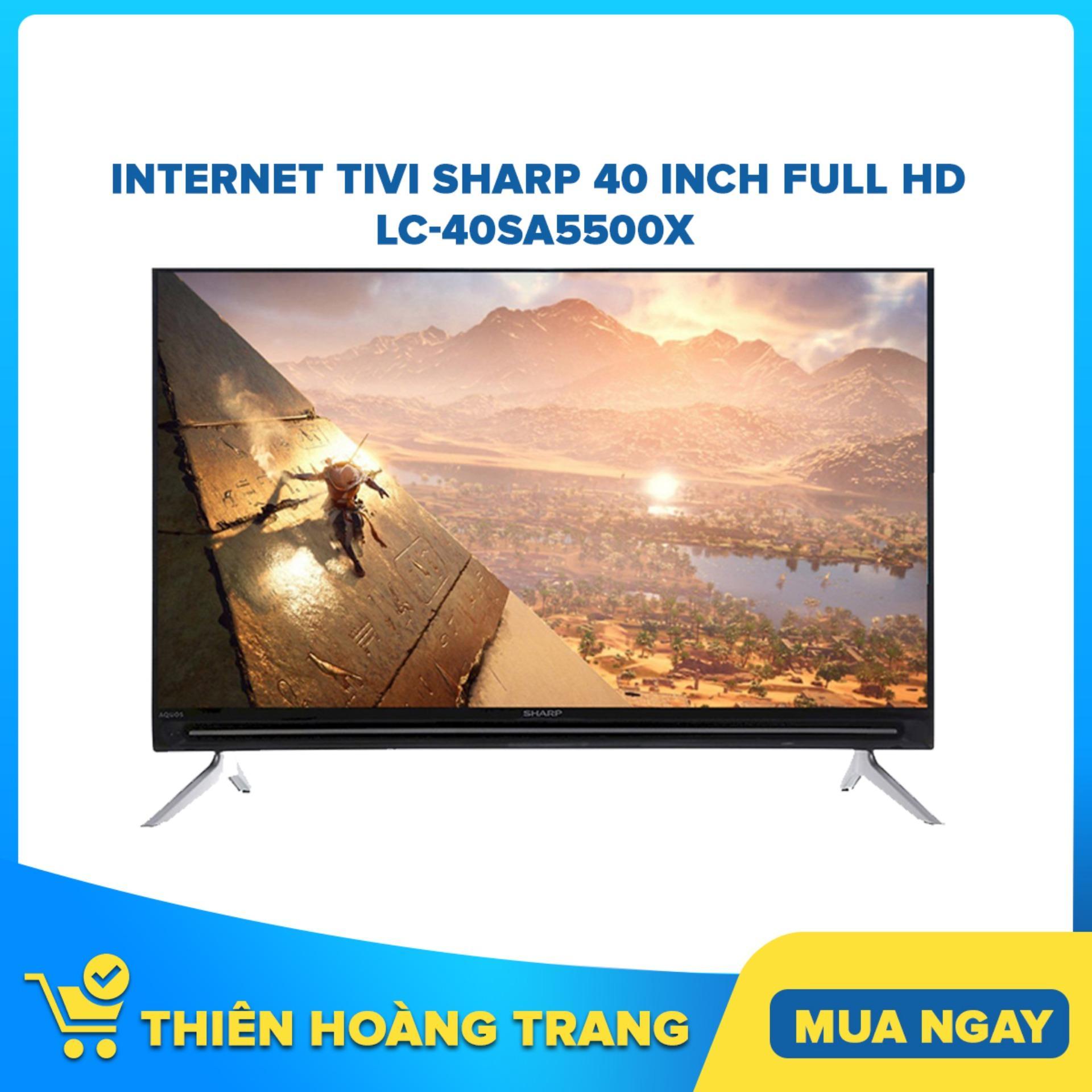 Bảng giá Internet Tivi Sharp 40 inch Full HD LC-40SA5500X