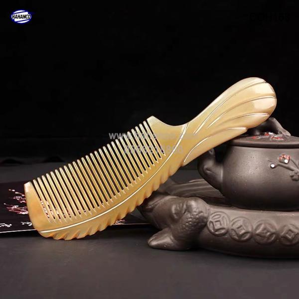 Lược sừng xuất Nhật ( Size: XL - 20cm ) Cổ điển cao cấp đẹp hoàn hảo ( COH165 ) cao cấp
