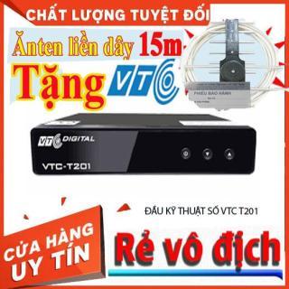 [ TẶNG ANTEN + PIN AA ] Đầu Thu Kỹ Thuật Số DVB T2 VTC T201- Đầu Thu Truyền Hình Mặt Đất Model XPX Hỗ Trợ Mọi Loại TIVI thumbnail