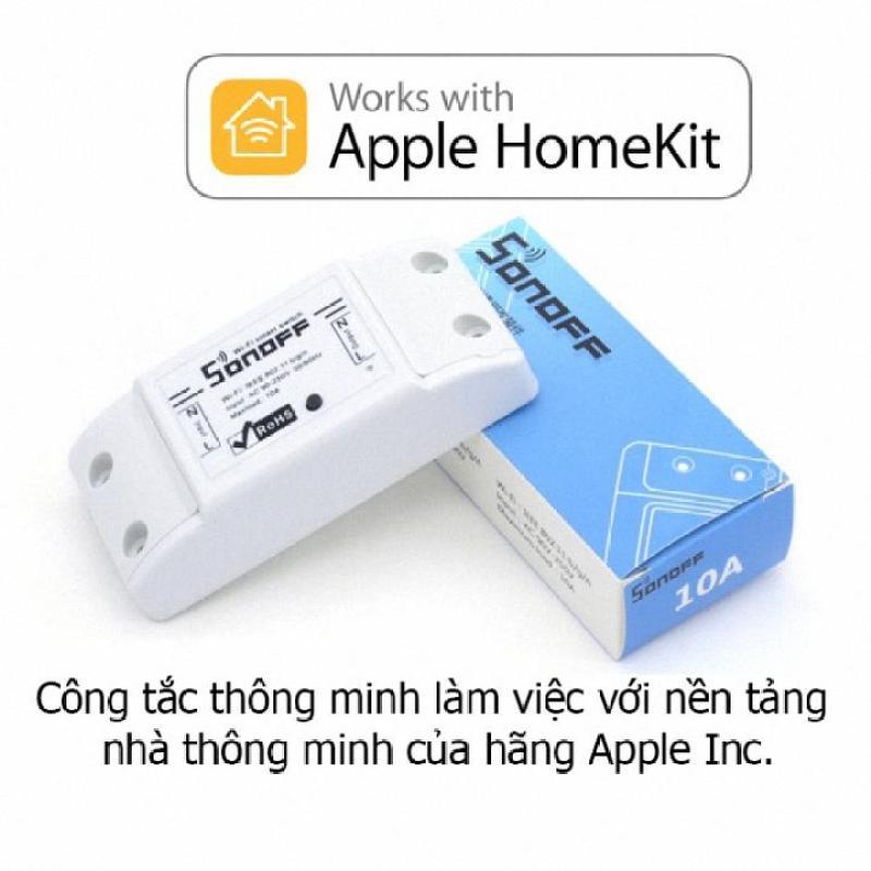 [Cực Sốc ] Tên sản phẩm : Thiết bị điều khiển thông minh (Sonoff  Basic Wifi smart Switch).
