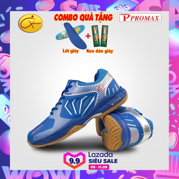 [Q-sport]-[4 Màu] Giày Cầu Lông Promax 20001, Động lực, đế kếp, chống trơn, chống trượt, ôm chân, bền bỉ, Giày cầu lông nam nữ- Giày bóng chuyền nam nữ- giày thể thao nam nữ