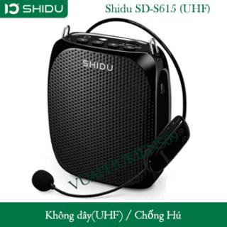 Máy Trợ Giảng Không Dây Shidu SD-S615 (UHF) thumbnail