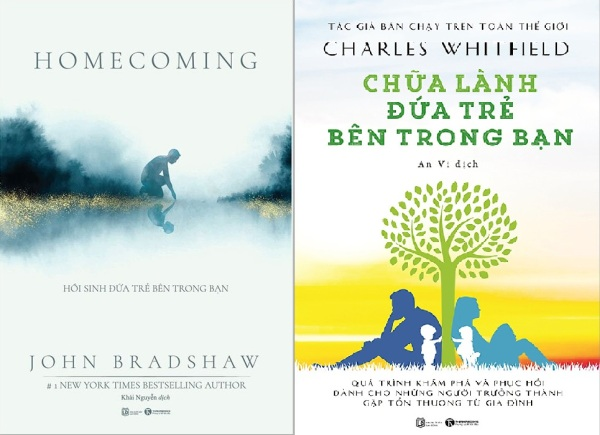 nguyetlinhbook : Combo 2 cuốn :  Hồi Sinh Đứa Trẻ Bên Trong Bạn + Chữa Lành Đứa Trẻ Bên Trong Bạn
