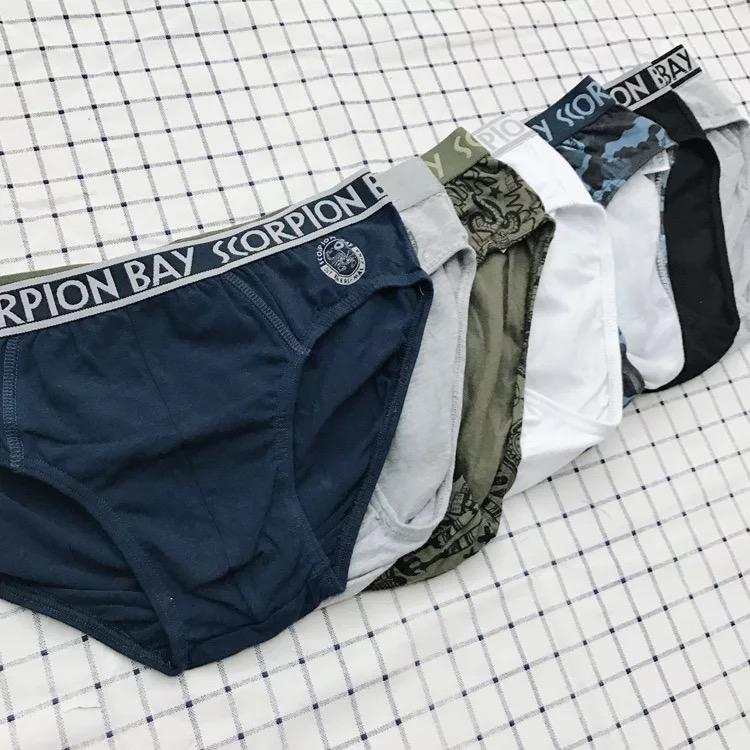 Quần lót nam cotton COMBO 3 QUẦN Nhật Bản