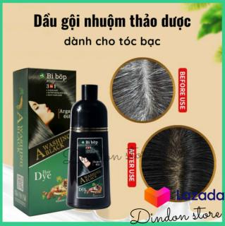 [DẦU GỘI NHUỘM TÓC HOT CỦA NHẬT] Dầu Gội Nhuộm Đen và Nâu tóc BIBOP - Dầu gội đen -nâu tóc thảo dược Nhật Bản BI BOP - Dầu gội nhuộm tóc [Others] thumbnail