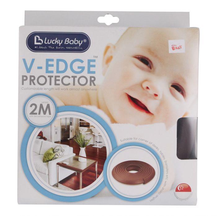 Chắn góc cạnh bàn an toàn cho bé dài 2m Safety V-Edge protector Lucky Baby