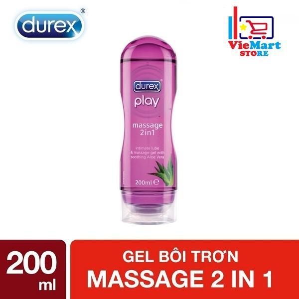 Gel Bôi Trơn Durex Play Massage 2in1 200ml - Hãng phân phối chính thức