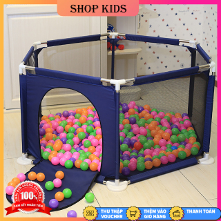 Lều Bóng khung thép không gỉ chắc chắn tặng kèm 10 bóng, thiết kế siêu an toàn chắc chắn giành cho bé vui chơi mỗi ngày thumbnail