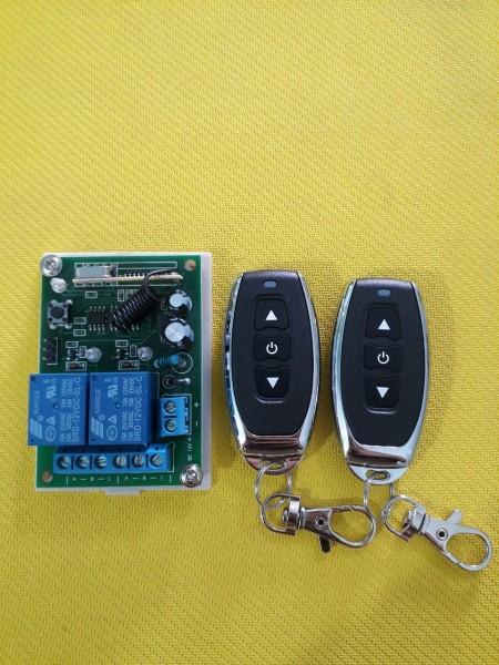 Mạch điều khiển mô tơ đảo chiều động cơ 12V 10A + Remote