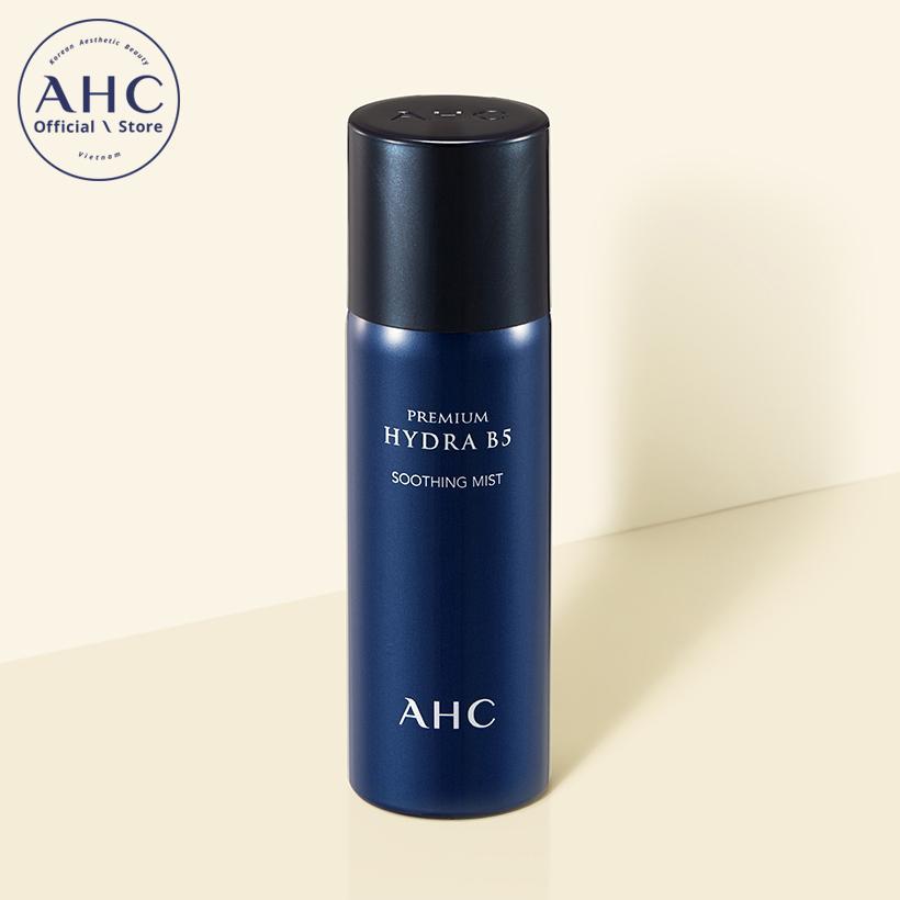 Xịt khoáng làm dịu da cao cấp AHC Premium Hydra B5 Soothing Mist 60ml