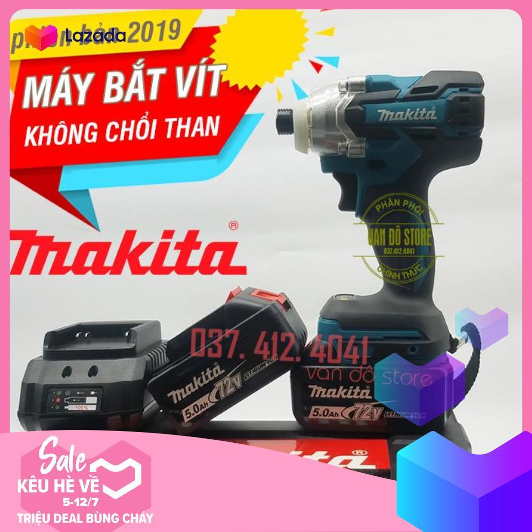 [KHÔNG CHỔI THAN] Máy bắt vít, vặn ốc MAKITA 72V DTS141 - 2 PIN