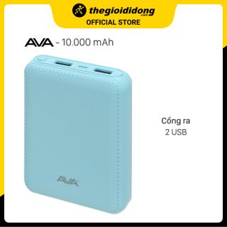 Pin sạc dự phòng 10000mAh AVA DS003-WB thumbnail