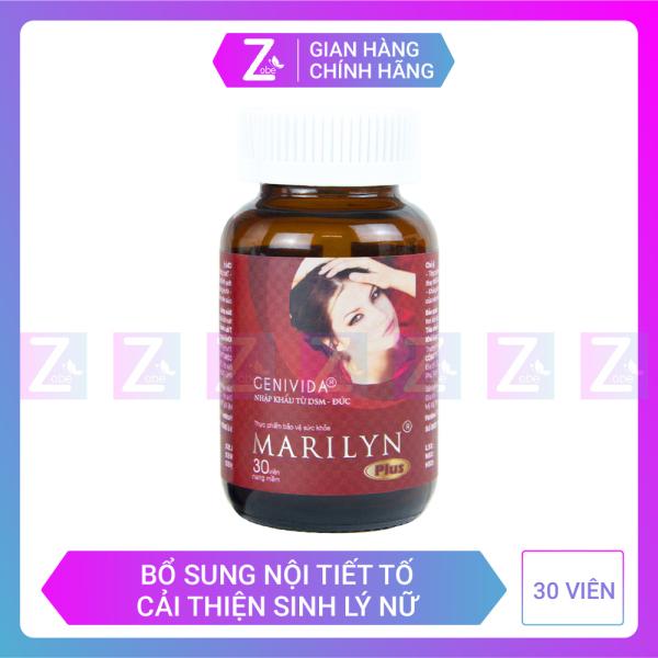 Viên uống tăng cường nội tiết tố nữ Marilyn Plus 30 viên