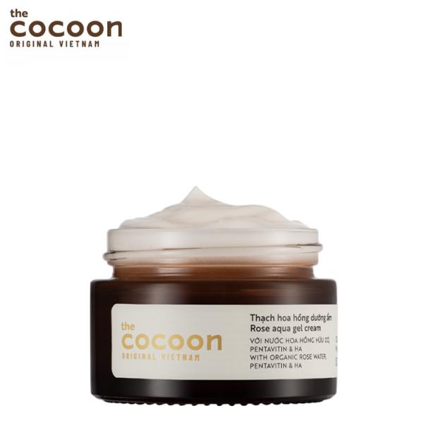 Thạch hoa hồng dưỡng ẩm cocoon 30ml dưỡng ẩm mang lại làn da mềm mượt mịn màng giá rẻ