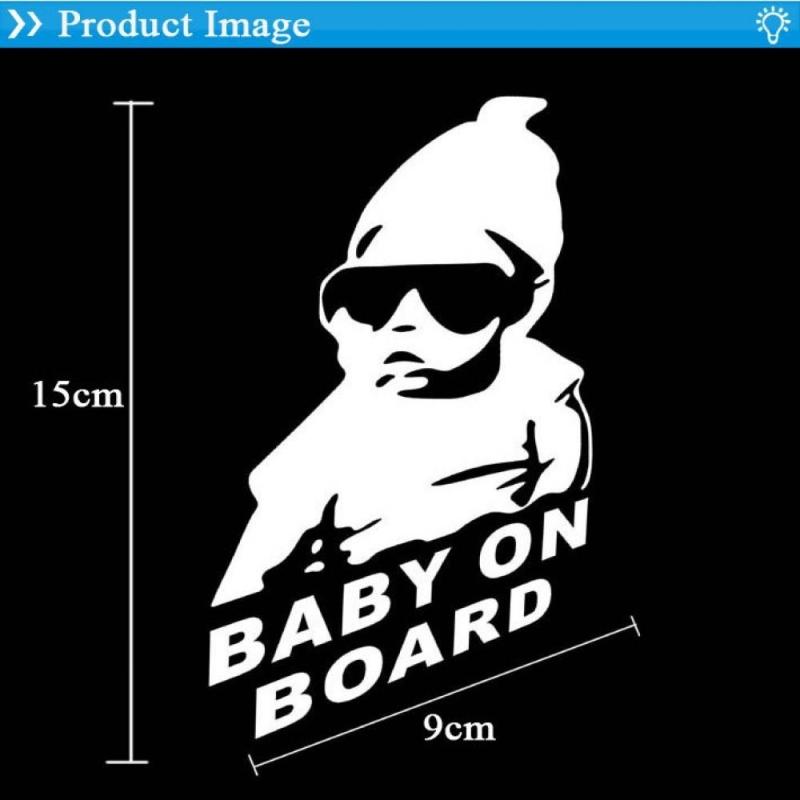 Decal dán kính xe ô tô Baby on Board