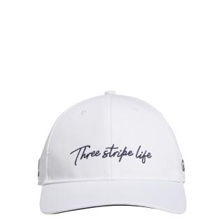 adidas GOLF Mũ lưỡi trai 3-Stripe Life Nam Màu trắng GD8774 thumbnail