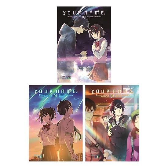 Coupon Giảm Giá Sách Chuẩn Chính Hãng - Truyện Tranh - Boxset Your Name, Phiên Bản Manga, Tặng Bookmark Kẹp Sách 10K - Hiệu Sách Cindy
