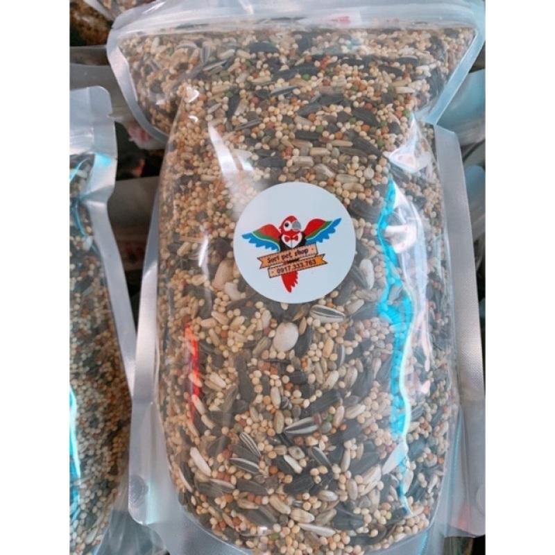 2kg hạt Vẹt nhỏ tặng 1 viên khoáng