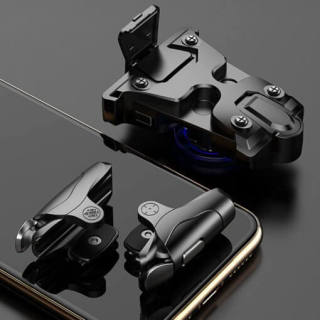 [VOUCHER 8% GIẢM 800k] Nút bắn auto tap 32 nhịp s nâng cấp của K01- Nút bắn ff cơ PUBG mobile - Nút bấm chơi ff - Bộ 2 nút bấm hỗ trợ chơi game phụ kiện ff PUBG không BAN Acc phụ kiện gaming Tay bấm gamer - Pin trâu thumbnail