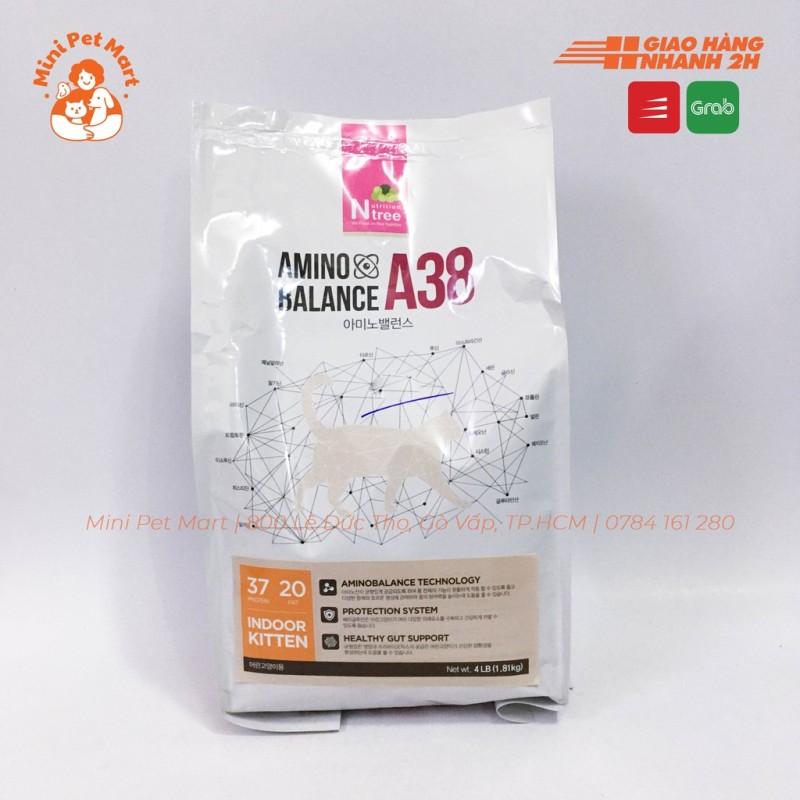 Thức ăn hạt cho mèo con AMINO BALANCE A38 1,8kg